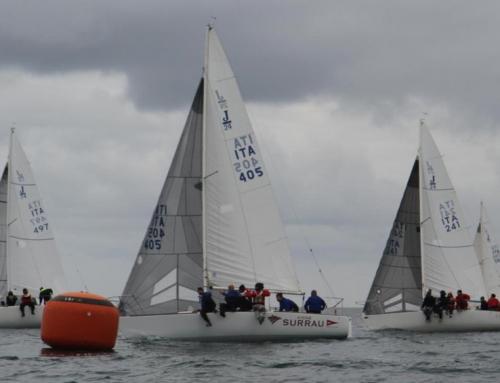 Vigne Surrau vince la prima tappa del Circuito zonale della Flotta Sarda J24.