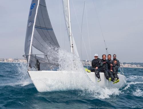 La Superba, il J24 della Marina Militare vince la prima tappa del Circuito Nazionale J24.