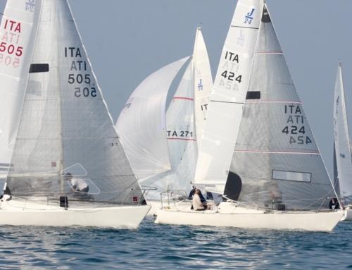 E' tempo di Invernali: la Flotta J24 impegnata sui campi di regata di tutta la Penisola.