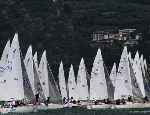 Riva del Garda: prima giornata del campionato italiano, in testa il duo Mariotti-Cruciani