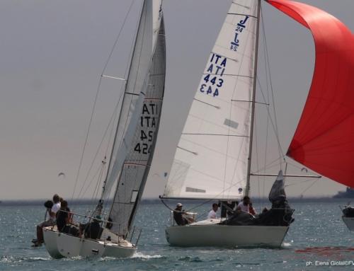 Fraglia vela Riva : La superba si porta in testa al Campionato